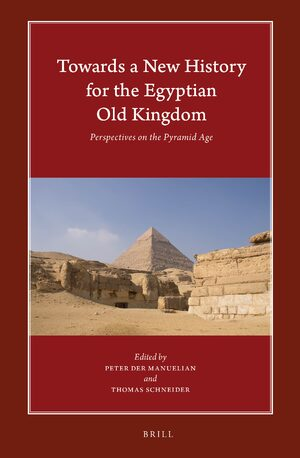 Cover Towards a New History for the Egyptian Old Kingdom