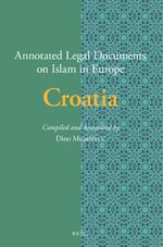 Cover Annotated Legal Documents on Islam in Europe: Croatia