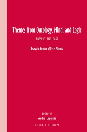 Cover Themes from Ontology, Mind, and Logic
