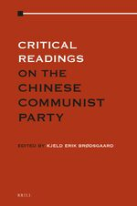 Cover Critical Readings on Communist Party of China