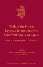 Cover Walls of the Prince: Egyptian Interactions with Southwest Asia in Antiquity