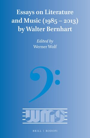 Cover Essays on Literature and Music (1985 – 2013) by Walter Bernhart