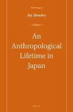 Cover An Anthropological lifetime in Japan