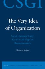 The Very Idea of Organization