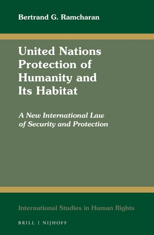 Cover United Nations Protection of Humanity and Its Habitat
