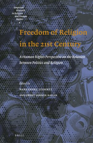 Cover Freedom of Religion in the 21st Century