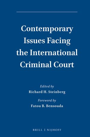 Cover Contemporary Issues Facing the International Criminal Court