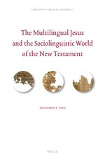 Cover The Multilingual Jesus and the Sociolinguistic World of the New Testament