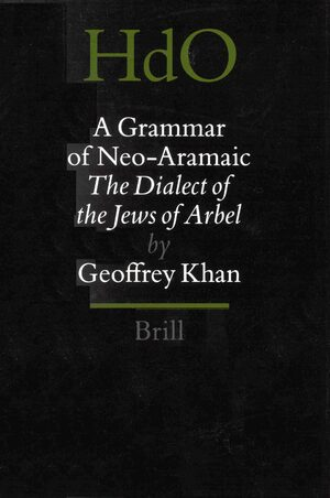 Cover A Grammar of Neo-Aramaic
