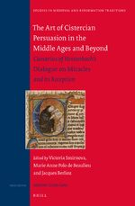 Cover The Art of Cistercian Persuasion in the Middle Ages and Beyond