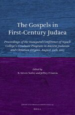 Cover The Gospels in First-Century Judaea