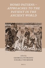 Cover Homo Patiens - Approaches to the Patient in the Ancient World