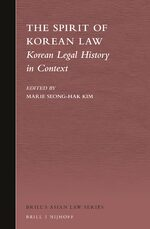 Korean Legal History in Context