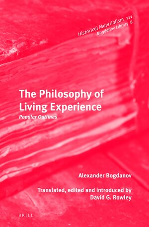 Cover The Philosophy of Living Experience