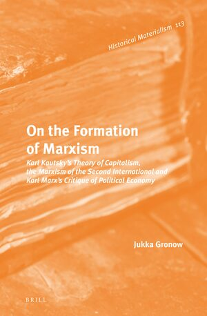 On the Formation of Marxism