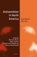 Cover Antisemitism in North America