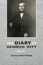 Cover The Diary of Heinrich Witt (10 vols.)