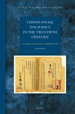 Cover China's Social Insurance in the Twentieth Century