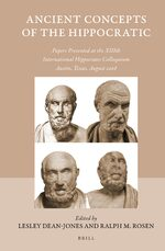 Cover Ancient Concepts of the Hippocratic