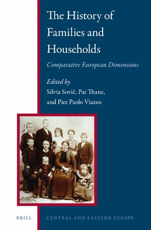 Cover The History of Families and Households: Comparative European Dimensions