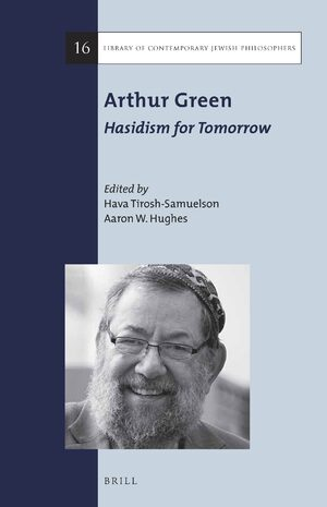 Cover Arthur Green: Hasidism for Tomorrow