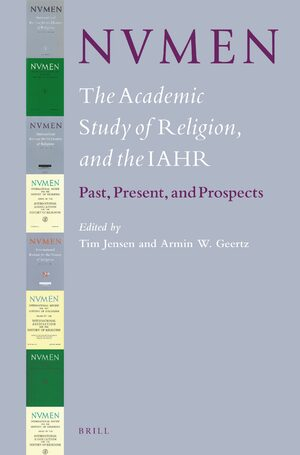 Cover NVMEN, the Academic Study of Religion, and the IAHR