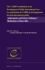 The CAHDI Contribution to the Development of Public International Law / La contribution du CAHDI au développement du droit international public