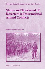 Cover Status and Treatment of Deserters in International Armed Conflicts