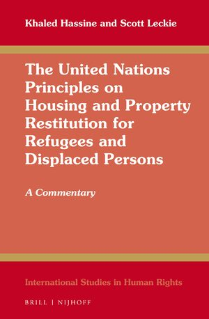 Cover The United Nations Principles on Housing and Property Restitution for Refugees and Displaced Persons