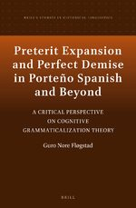 Cover Preterit Expansion and Perfect Demise in Porteño Spanish and Beyond