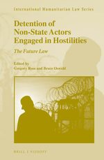 Cover Detention of Non-State Actors Engaged in Hostilities
