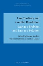 Cover Law, Territory and Conflict Resolution