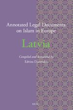 Cover Annotated Legal Documents on Islam in Europe: Latvia
