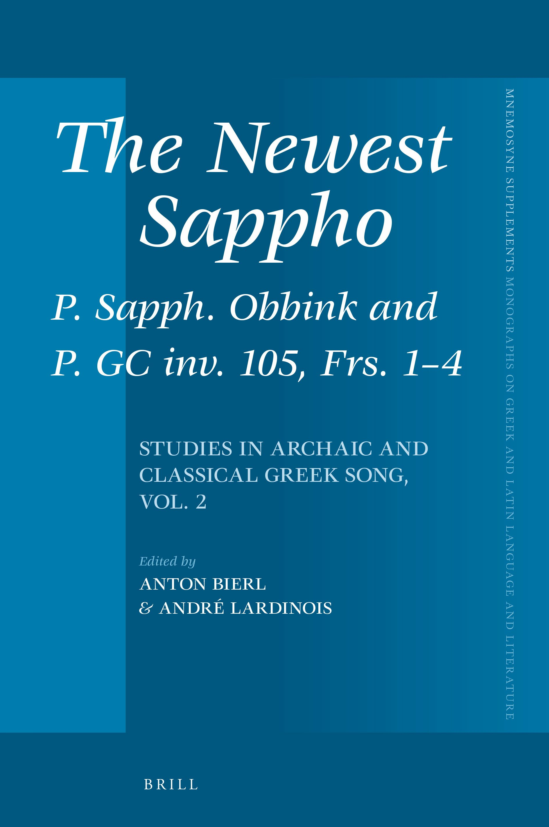 Gendered Spheres And Mythic Models In Sapphos Brothers Poem