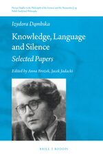 Cover Knowledge, Language and Silence