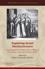 Cover Exploring Jesuit Distinctiveness