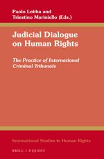 Cover Judicial Dialogue on Human Rights