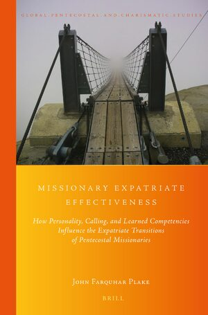 Cover Missionary Expatriate Effectiveness