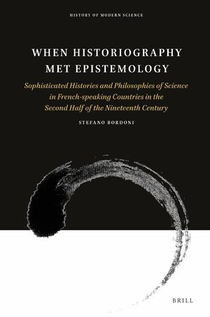 Cover When Historiography Met Epistemology