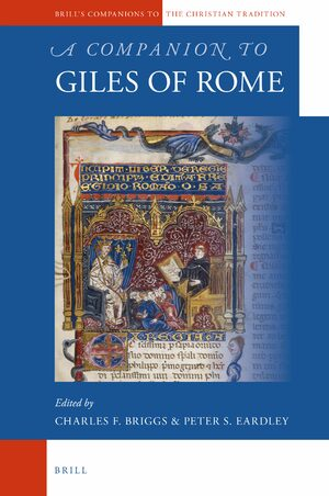 Cover A Companion to Giles of Rome