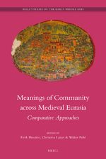 Cover Meanings of Community across Medieval Eurasia