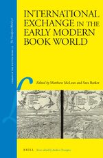 Cover International Exchange in the Early Modern Book World