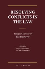 Cover Resolving Conflicts in the Law