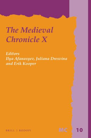 Cover The Medieval Chronicle X