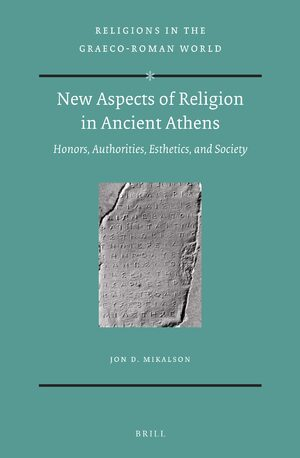 Cover New Aspects of Religion in Ancient Athens