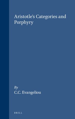 Aristotle's Categories and Porphyry