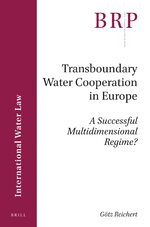 Cover Transboundary Water Cooperation in Europe