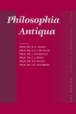 Cover Theophrastus against the Presocratics and Plato