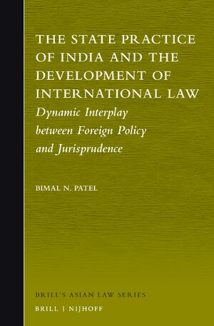 Cover The State Practice of India and the Development of International Law