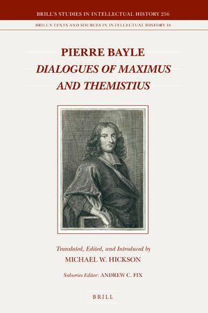 Cover Dialogues of Maximus and Themistius